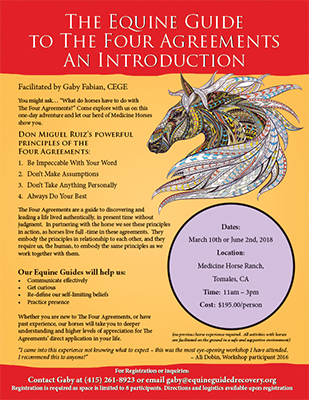 The equine guide to the four agreements an introduction equine the equine guide to the four agreements an introduction platinumwayz